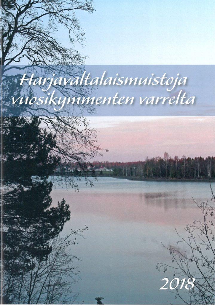 Harjavaltalaismuistoja vuosikymmenten varrelta 2018 -lehden kansi.