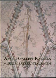 Satakunta XXIX: Akseli Gallen-Kallela - Suuri satakuntalainen -teoksen kansi.