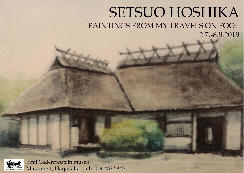 Setsuo Hoshika, juliste