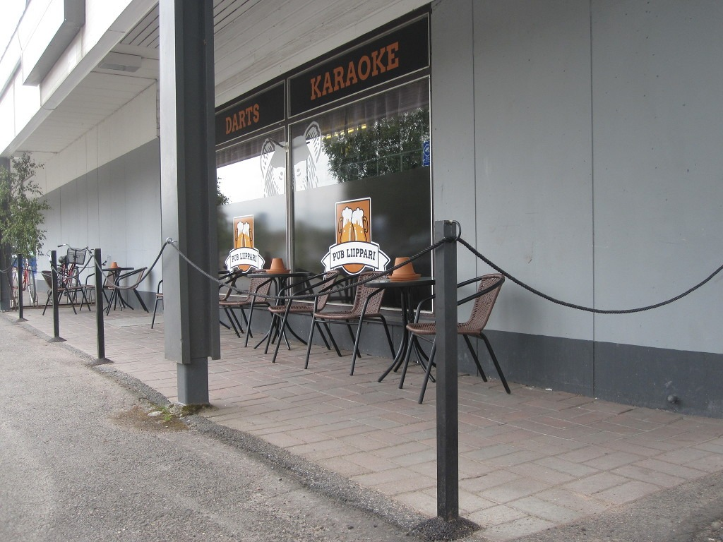 Pub Liippari terassia